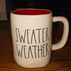 NEW Rae Dunn SWEATER WEATHER Mug